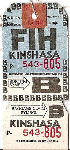 Pan Am - FIH Kinshasa, Zaire | Flickr - Photo Sharing!