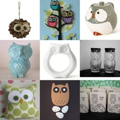 I'm loving all of the cute Owl objects out right now…