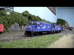 HO Scale Conrail Mixed Freight