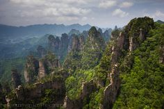 """Visiting the """"Avatar"""" Mountains of Zhangjiajie National Forest Park, China   Brendan's Adventures"""