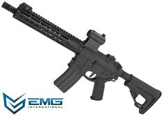 (10 MAGAZINE BUNDLE DEAL) EMG Hellbreaker Licensed Full Metal Advanced M4 SBR 10 Airsoft AEG Rifle (Black)