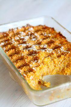Vatsan vapaapäivä: Kvinoa-porkkanalaatikko - hitti jouluksi! Veggie Dishes, Ibs, Stevia, Banana Bread, Macaroni And Cheese, Veggies, Gluten Free, Healthy, Ethnic Recipes