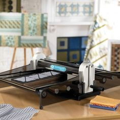 article about justifying certain purchases to better your business. Accuquilt studio cutter.