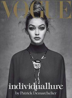 runwayandbeauty: Gigi Hadid wearing Valentino for Vogue Italia April 2016. (Cover) Ph: Patrick Demarchelier