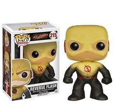 Funko Pop! TV Series The Flash Reverse Flash Vinly Figure