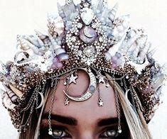 Gold Red Wedding Crown Diadem Tiara Earrings swarovski crystal Light Siam Baroque Jewelry Set pageant Bridesmaid Bride Gift for girlfrend Cute Jewelry, Hair Jewelry, Crystal Crown, Fantasy Jewelry, Fantasy Hair, Fantasy Makeup, Tiaras And Crowns, Headdress, Flower Crown