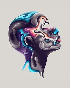 WITHIN by Rik Oostenbroek | Digital art inspiration | #910 #digitalart