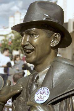 They celebrated Walt's birthday on Buena Vista Street.