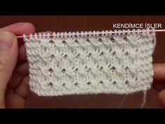 Crochet Pattern – New knitting pattern looks like Easy Knitting Patterns, Knitting Stitches, Knitting Designs, Free Knitting, Baby Knitting, Stitch Patterns, Crochet Patterns, Simple Knitting, Crochet Slipper Pattern