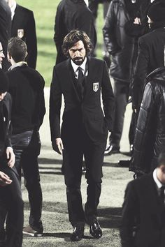 Pirlo....One man, who stands out in a room....Or rather a generation of new players.