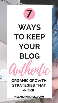 How do you keep your blog authentic and honest in a world where truth and honesty seem to be far in few between? Here are 7 tips to keep your blog authentic and how to keep it raw and real as a blogger. As an online influencer, you want to build trust with your readers, especially if you want to monetize from your blog in a genuine and organic way.