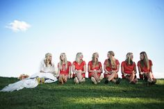 Life in Technicolor: Wedding Pictures Day 4: Bridesmaids, Groomsmen, and Flower Girls