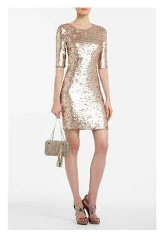New Bcbg Maxazria Marta Sequined Tail Dress Jute Combo Dresses Bcbgmaxazria Staple