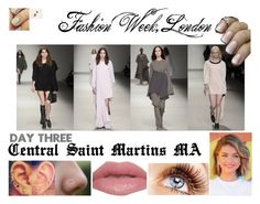 """Fashion Week: Day Three - Central Saint Martins MA"" by beccaconnor ❤ liked on Polyvore featuring Urban Decay, fashionWeek, piercings, tattoos and CentralSaintMartinsMA"
