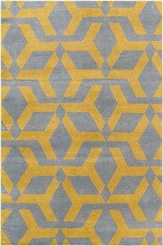 Gaelic Yellow by Alexandra Champalimaud for The Rug Company