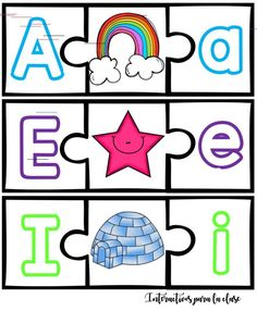 El alfabeto Spanish Beginning Sounds Practice Pages Letter Activities, Kids Learning Activities, Student Learning, Learning The Alphabet, Montessori Materials, Help Teaching, Kids And Parenting, Flashcard, Calming