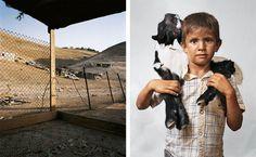 Bilal, Wadi Abu Hindi, The West Bank Portraits of Children Around the World and Where They Sleep