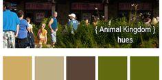 Disney Color Palletes