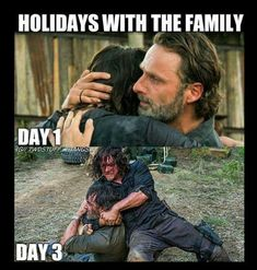 Holidays with the family be like....  #TheWalkingDead #twd #walkingdead #AMC