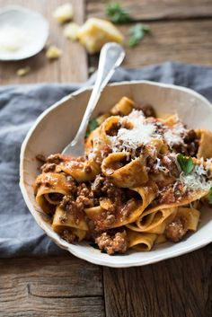 Take your basic meat sauce to the next level with the addition of Italian sausages to create an incredible Italian Sausage & Beef Ragu pasta! It's easy, rich and indulgent, and you'd pay serious... Read More »