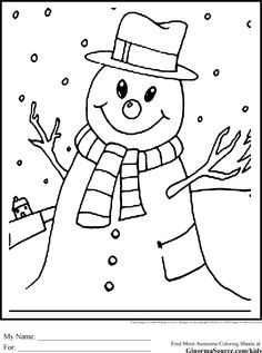 snowman coloring pages crayola back - photo#10