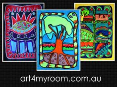 Sally Morgan, Indigenous Art, Aboriginal Art, NAIDOC. Communities - paper, paint, markers, crayons - art for teachers and kids - for this lesson please visit our website