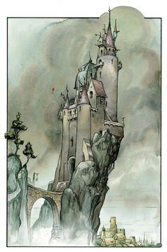 A Wizard's Tale by David Wenzel.