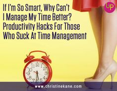 """If we're being honest, then most of us would admit we suck at time management.  That's why this article shares secrets for """"energy management."""" It's about you, not your time."""