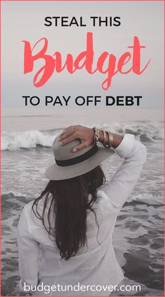 Steal the exact same budget spreadsheet that I used to pay off $16,000 in student loan debt. Use it to pay off your own debt and save money to reach your financial goals!