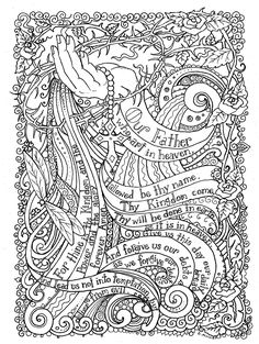 Adult Coloring Prayers To Color By Deborah Muller Inspirational Messages Of Faith Scripture
