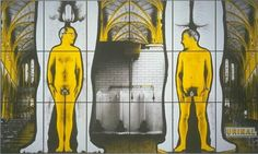 Urinal - Gilbert & George, 1991 | Collection Boijmans