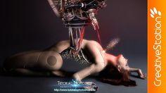 Cyborg Construction - Speed art ( #Photoshop CS6 ) | CreativeStation