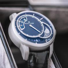 The Maurice Lacroix Pontos Decentrique Phase De Lune Limited Edition, long name, amazing timepiece.
