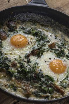 Αβγά Με Σπανάκι & Μανιτάρια: Εύκολα – Γρήγορα – Θρεπτικά | Γιάννης Λουκάκος