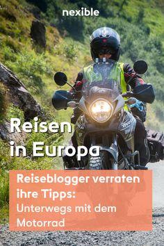 Reiseblogger verraten ihre Tipps. Die schönsten Motorrad-Touren in den Alpen Reisen In Europa, Am Meer, Movies, Movie Posters, Car Insurance, Tourism, Tours, Alps, Adventure