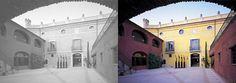 pati central La Boella Tarragona