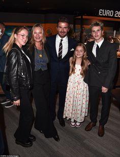 Harper Beckham, David Beckham, England Vs Italy, Declan Donnelly, Coleen Rooney, England Shirt, Gareth Southgate, Kate Moss Style, England Players