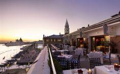 Restaurant Terrazza Danieli - Terrace at sunset