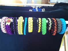 Survival bracelets Survival Straps, Survival Bracelets, Kustom, Friendship Bracelets, Cool Stuff, Kids, Handmade, Accessories, Jewelry