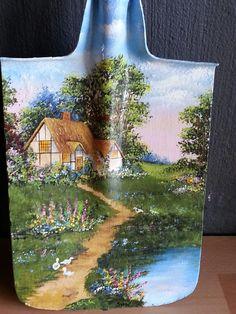 Cottage on Spade -  acrylic