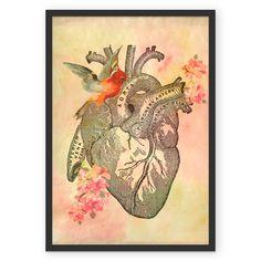 Pôster da linha HEART por Sarah Stehling a venda no  www.colab55.com/@sarahstehling Impressos em papel algodão Hahnemühle 200gsm, com técnica e durabilidade de galerias e museus, nossos incríveis posters vão deixar qualquer ambiente único.