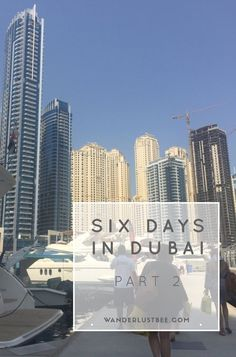 Dubai with the Girls    Part 2 Read more about our next two days in Dubai including visiting Atlantis Aquaventure, having dinner and watching the Burj's fountains and hiring a yacht..