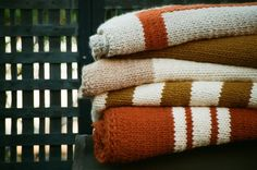 AFFINITA' MODERNE : SHOP - LIMITED EDITION : HAND-KNIT BLANKETS - TODDLER & THROWS