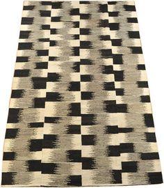 kelim moderna matta 168x239 interior pinterest kelim teppich schwarz wei and schwarz. Black Bedroom Furniture Sets. Home Design Ideas