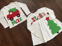 89af114b1 Brother Sister Sibling Set Christmas Tree by TheHeartCreations Mardi Gras  Decorations, Brother Sister, Family