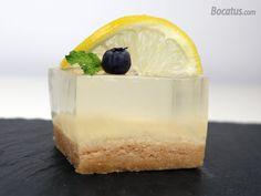 Tarta de gin tonic Gin And Tonic, Parfait, Panna Cotta, Pudding, Ethnic Recipes, Sweet, Desserts, Food, Soup Bowls