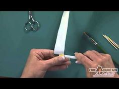Video Tutorial - Making Beads with the Paper Bead Roller - Fire Mountain Gems and Beads