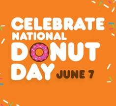 June 7th Celebrate National Donut Day