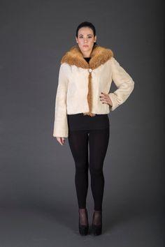 Hey, I found this really awesome Etsy listing at https://www.etsy.com/listing/487956645/luxury-giftbeige-beaver-fur-coatfur