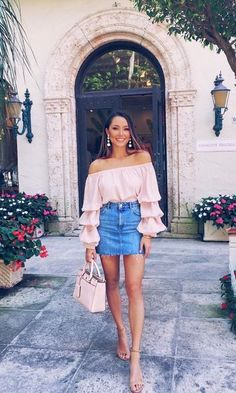 Stylish Fancy Outfits Ideas Just Before Summer 36 Perfect Winter Outfit Ideas Fashion long skirt outfits ideas Trend Fashion, Fashion 2020, Spring Fashion, Fashion Ideas, Fashion Hacks, Fashion Styles, Denim Skirt Outfits, Dress Outfits, Denim Skirts